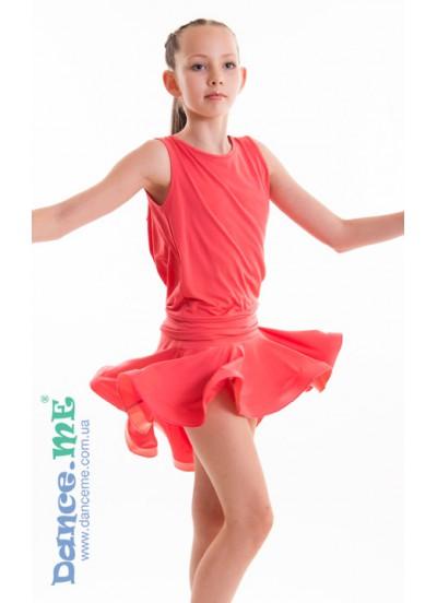 Юбка для латины Dance Me ЮЛ207-Кр