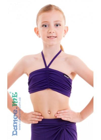 Dance Me Топ детский 307, масло, фиолетовый