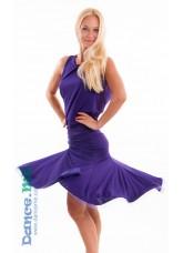 Dance Me Юбка для латины ЮЛ185 женская, масло, фиолетовый