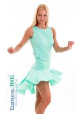 Dance Me Юбка для латины ЮЛ207-Кр женская, масло, мята