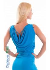 Dance Me Блуза женская БЛ165, масло, голубой