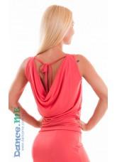Dance Me Блуза женская БЛ165, масло, коралл