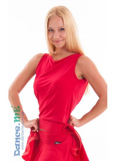 Dance Me Блуза женская БЛ165, масло, красный