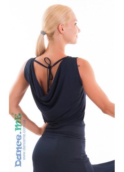 Dance Me Блуза женская БЛ165, масло, темно синий