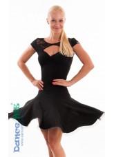 Dance Me Платье женское ПЛ163-4, масло / кружево, черный