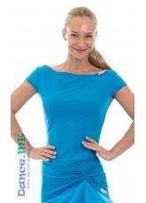 Dance Me Блуза женская БЛ353-КР, масло, голубой