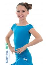 Dance Me Блуза детская БЛ353-КР, масло, голубой