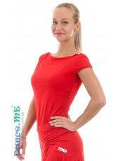 Dance Me Блуза женская БЛ353-КР, масло, красный