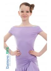 Dance Me Блуза детская БЛ353-КР, масло, cиреневый