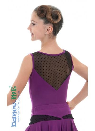 Детская блуза для бально-спортивного танца Dance Me БЛ398-8-6
