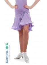 Dance Me Юбка для латины ЮЛ213-8 детская, масло, cиреневый