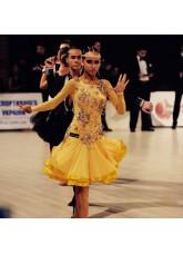 Платье Латина, желтое