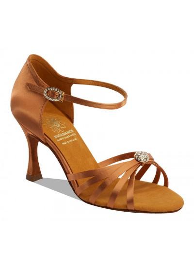 Supadance Обувь женская для латины 1064, Dark Tan Satin