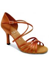 Eckse Обувь женская для латины Алонца, кедр атлас