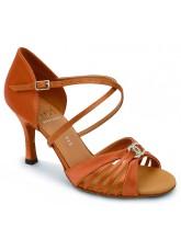 Eckse Обувь женская для латины Саванна, кедр атлас
