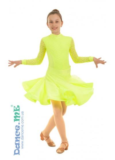 Dance Me Рейтинговые платья / Бейсик 273-268, лимонный