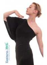 Dance Me Блуза женская БЛ294, масло, черный