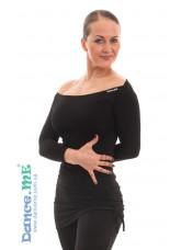 Dance Me Блуза женская БЛ353, масло, черный