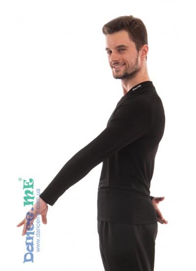 Dance Me Футболка мужская с длинным рукавом ФДРМ66-М, масло, черный