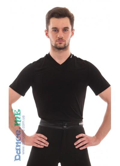 Dance Me Футболка мужская с коротким рукавом ФКРМ66-Хл, Хлопок, Черный