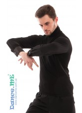Dance Me Гольф мужской ГЛ142, масло / атлас, черный