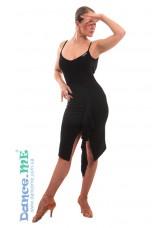 Dance ME Платье женское ПЛ246, масло , черный