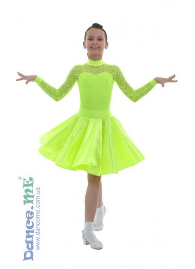 Dance Me Рейтинговые платья / Бейсик 277-180, лимонный