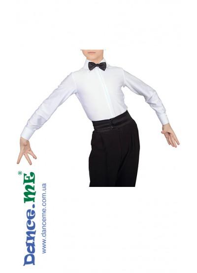 Dance Me Рубашка РЛ225, белый бифлекс
