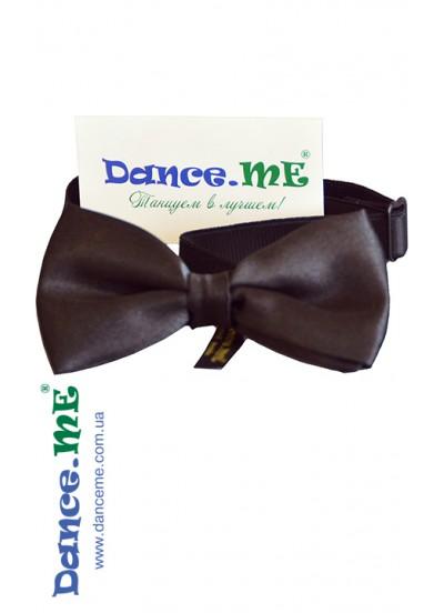 Dance Me Бабочка, атлас, черный