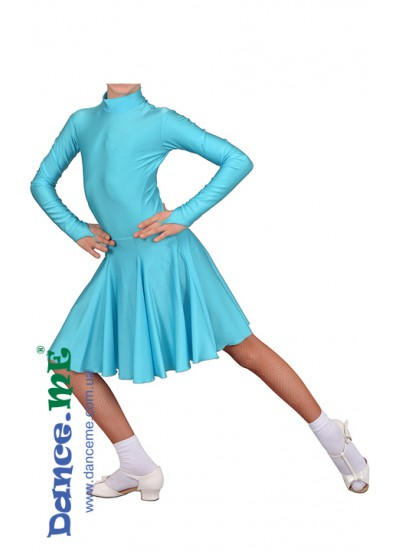 Dance Me Рейтинговые платья / Бейсик 164ДР-И-04, светло-голубой