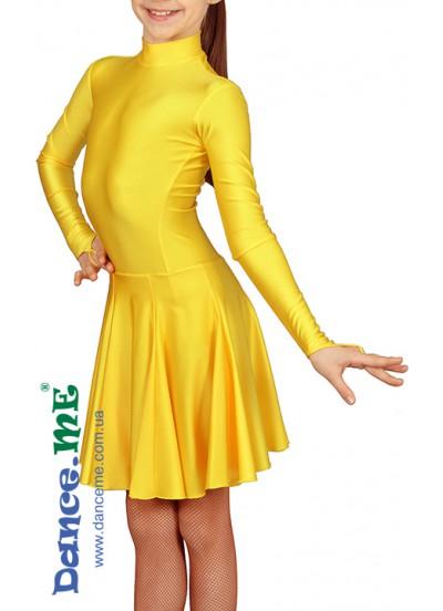 Dance Me Рейтинговые платья / Бейсик 164ДР-И-15, золотой