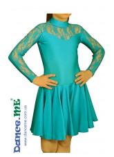 Dance Me Рейтинговые платья / Бейсик 199ДР-23, лазуревый