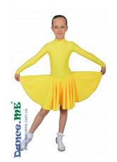 Dance Me Рейтинговые платья / Бейсик 67ДР-К-14, желтый
