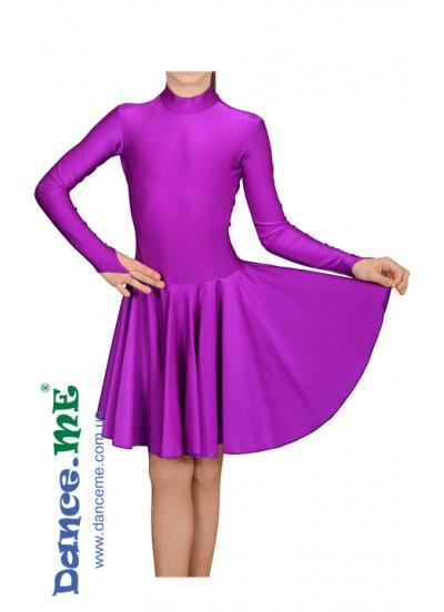 Dance Me Рейтинговые платья / Бейсик 67ДР-К-24, фиолетовый