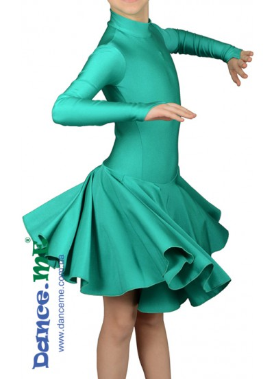 Dance Me Рейтинговые платья / Бейсик 67ДР-К-25, зеленый