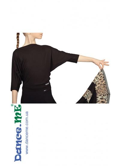 Dance Me Блуза детская БЛ241, вискоза / черный