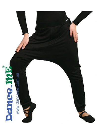 Dance ME Брюки для хореографии женские BR234, вискоза, черный