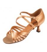 Dance Me Обувь женская для латины 0509, 2-кедр сатин