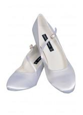 Dance Naturals Обувь женская для стандарта Art. 220, White Satin