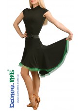 Dance Me Платье женское ПЛ179-Кр-Цв, масло, черный