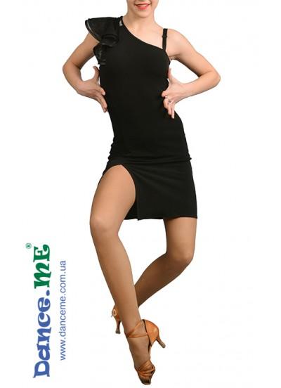 Dance ME Платье женское ПЛ216, масло , черный