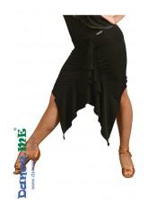 Dance ME Юбка для латины ЮЛ245 женская, масло , черный