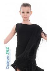 Dance Me Блуза детская БЛ300, масло, черный