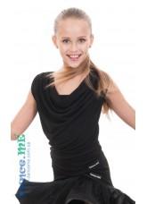 Dance Me Блуза детская BL338, масло, черный