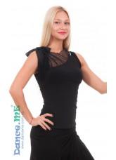 Dance Me Блуза женская БЛ249, масло, черный
