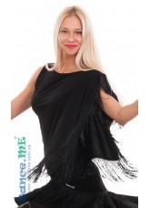 Dance Me Блуза женская БЛ300, масло, черный