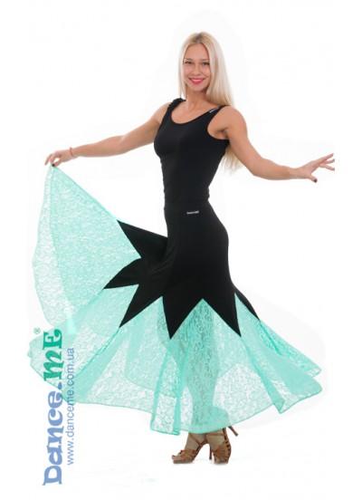 Женская юбка для стандарта Dance Me ЮС264-Кри11