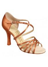 Galex Обувь женская для латины Николь, кедр сатин