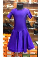 Рейтинговое платье 420 КР-К Dance.me, Украина, Бифлекс,  Смородина №32