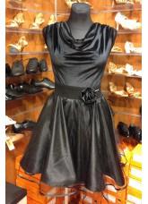 Dance Me Блуза женская БЛ338-13, бархат, черный